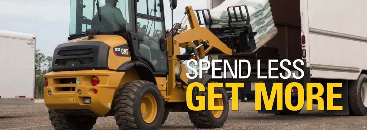Compact Wheel Loader - Special Offer - Spend Less. Get More.