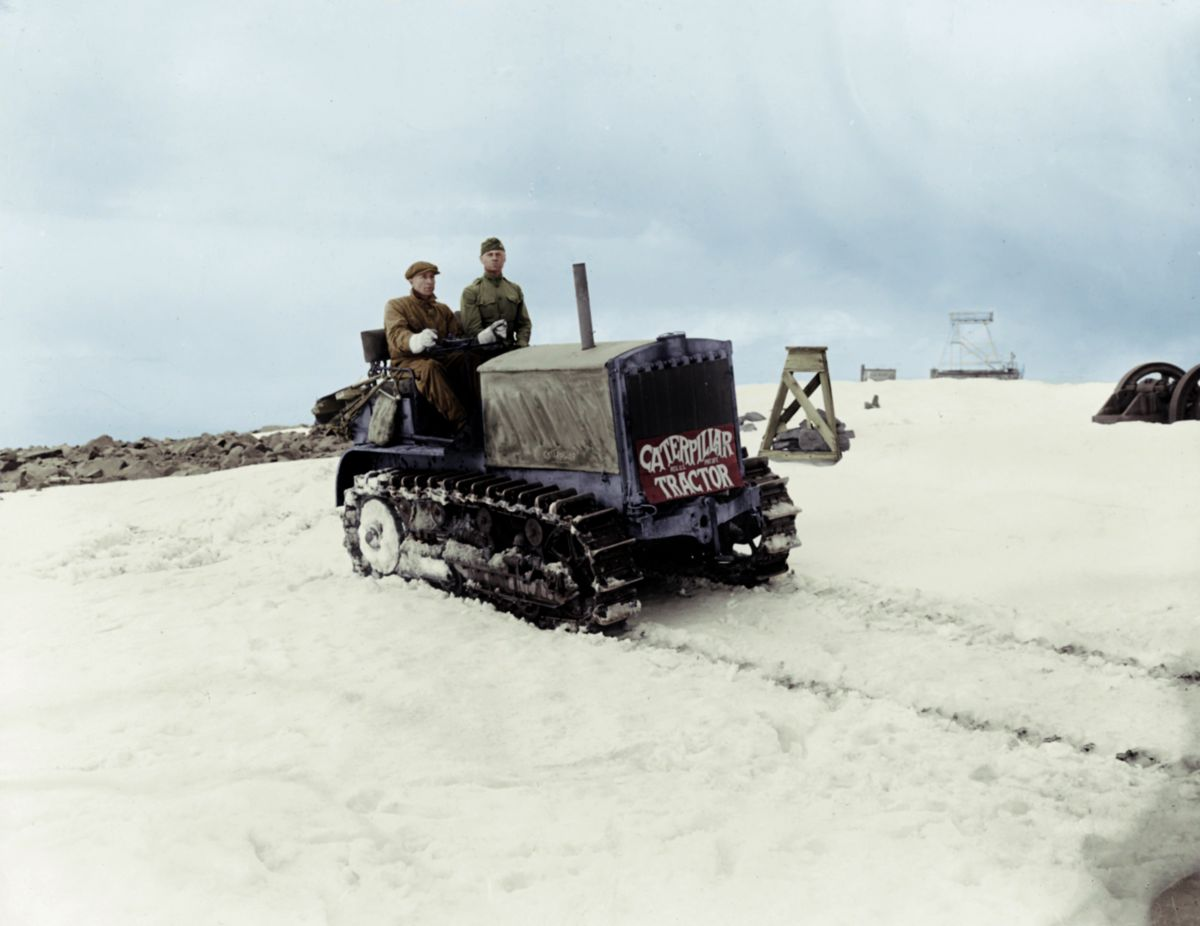 Holt 5-Ton Track-Type Tractor, Pikes Peak, 1919