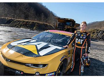 Caterpillar in NASCAR