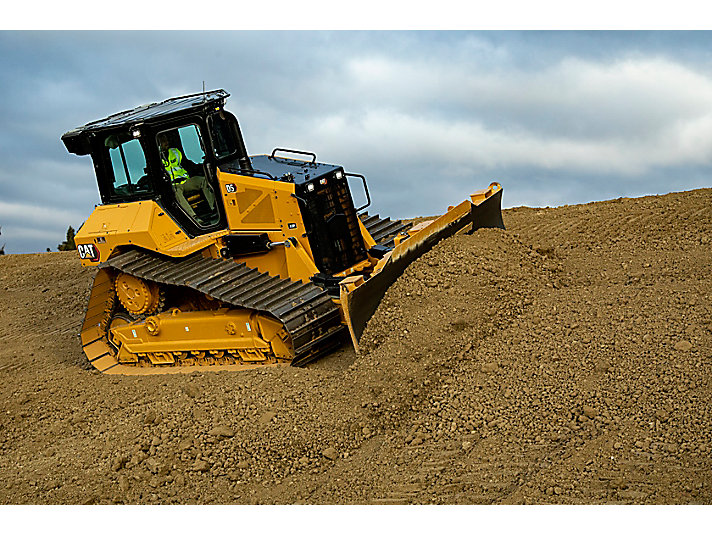 D5 Dozer Slope Work