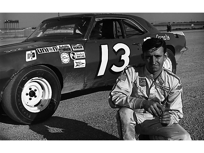 Richard ahead of his Grand American Series start at Talladega Superspeedway in 1969, he was asked to race this car in the Grand National race the next day when drivers boycotted