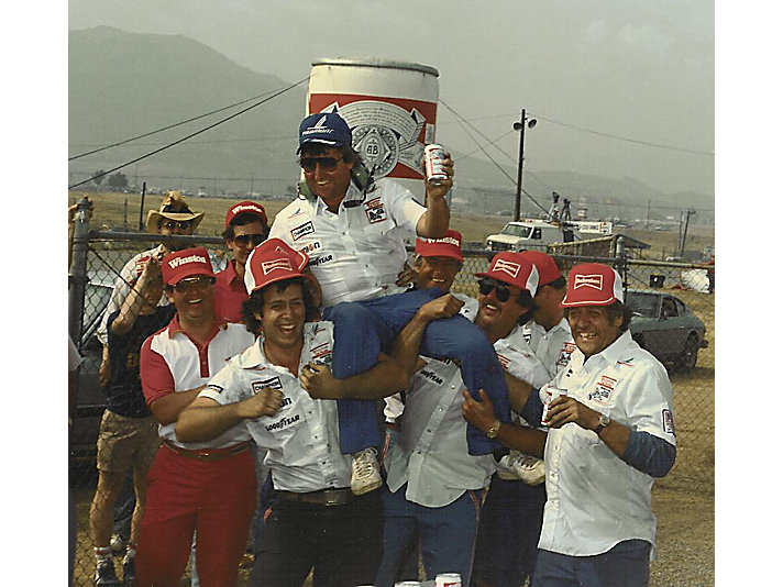 This is also from RCR's first Cup Series win at Riverside