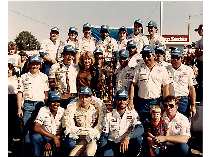 RCR's first Cup Series win with Ricky Rudd at Riverside International Raceway (California)in 1983