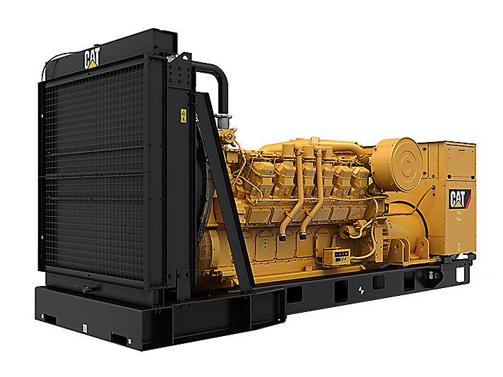 3512 MUI 模块化后悬发电机组(左前)