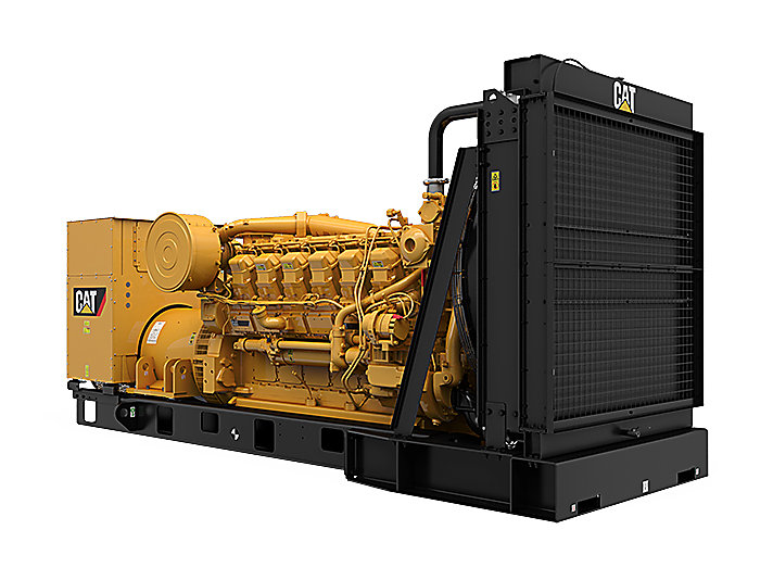 3512 MUI Modular Rear Overhang Generator Set (Front Right)