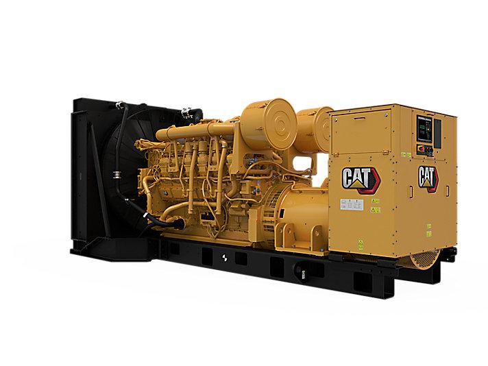 3512B Diesel Generator Sets Rear Left