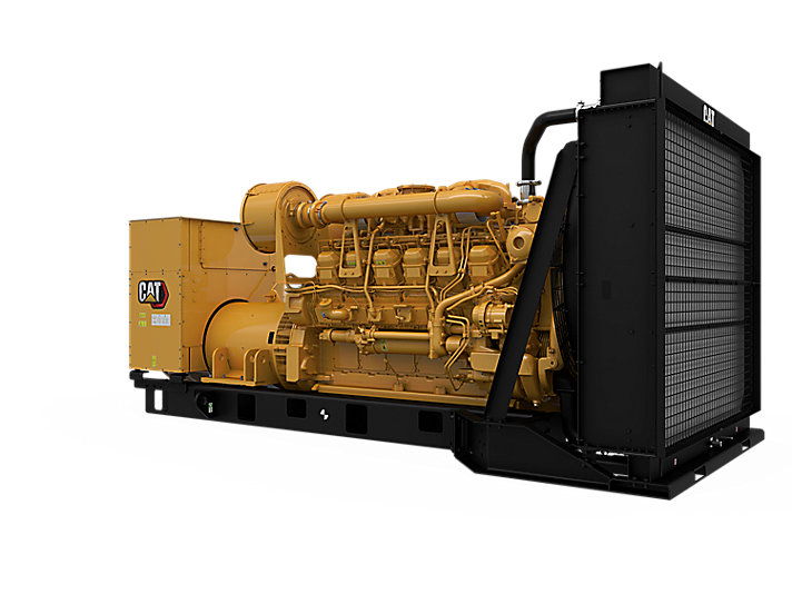 3512B Diesel Generator Sets Front Right