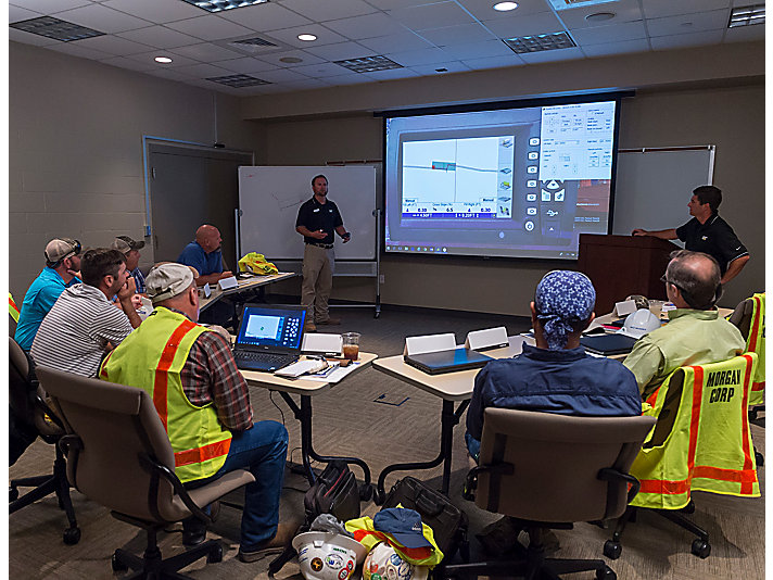These courses are designed to help operators learn beginning through advanced operating principles and techniques. - Caterpillar Training Coordinator Josh Hayes.