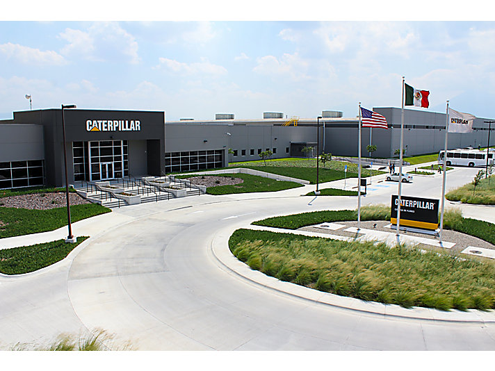 Usine de Caterpillar à Monterrey