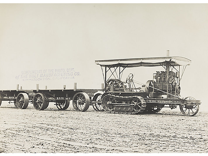 "In 1909, a Holt 45 track-type tractor was the first ""Caterpillar"" sold in Mexico."