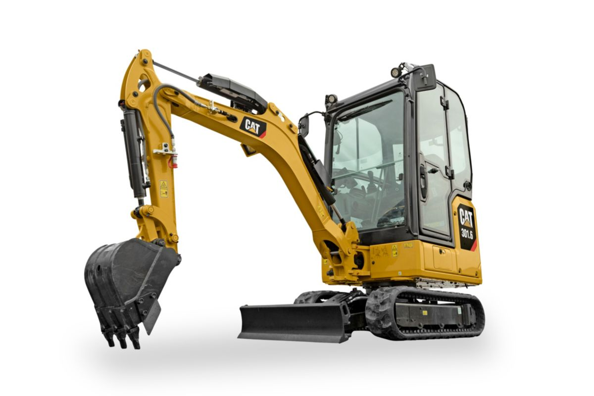 The new Cat 301.6 Next Generation mini excavator