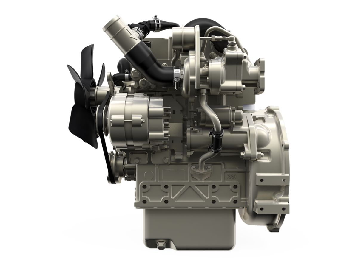 Perkins Engines launches new turbo engine at ARA