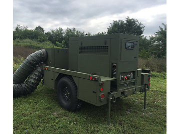 Quiet generator sets help give deployed troops a temporary escape from high stress environments