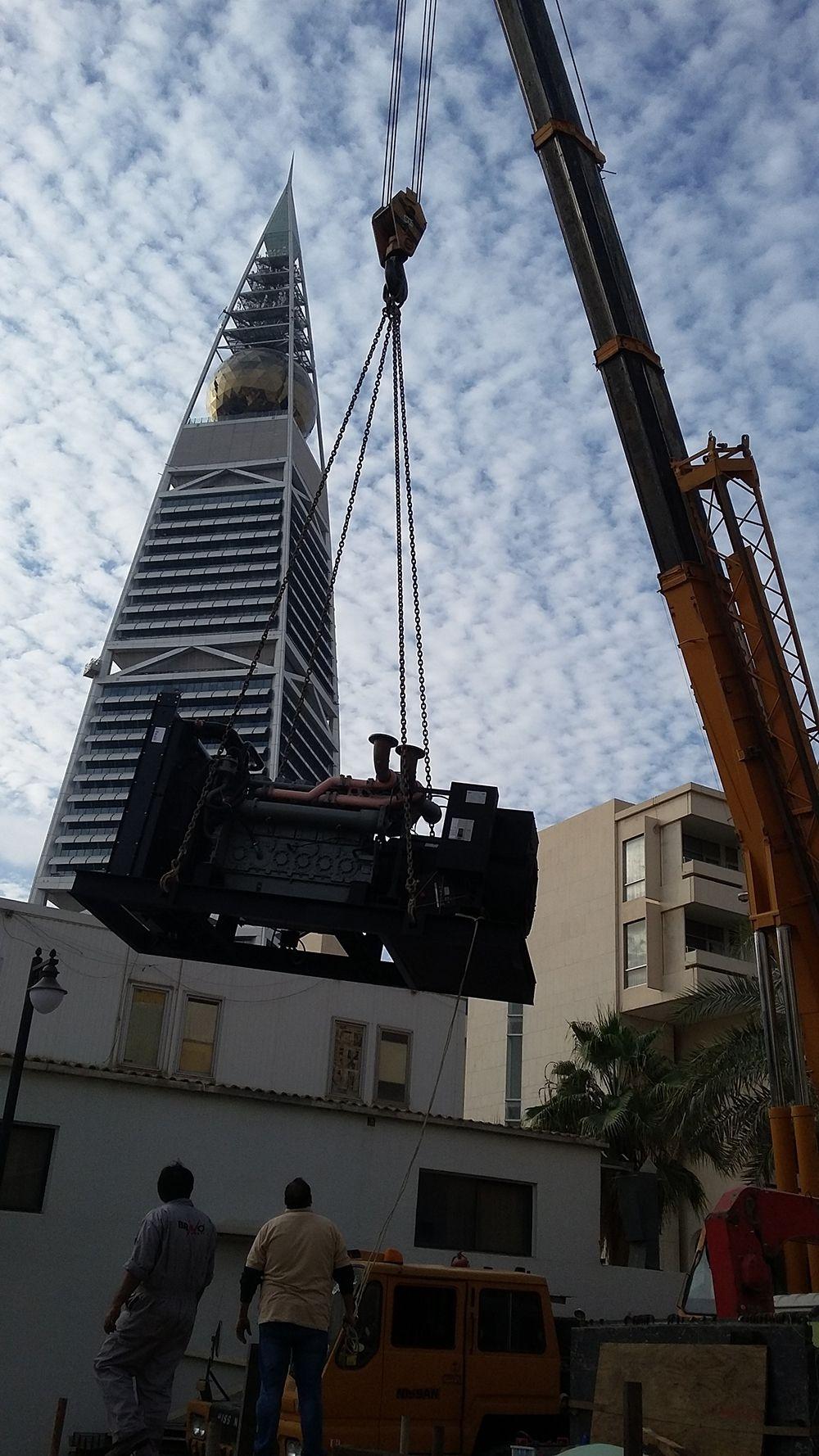 Riyadh hotel benefits from Al Faddaghi and Perkins power