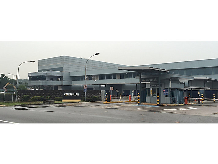 Caterpillar Singapore facility