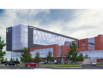 Patient Tower Addition at Summa Health System's Akron Campus