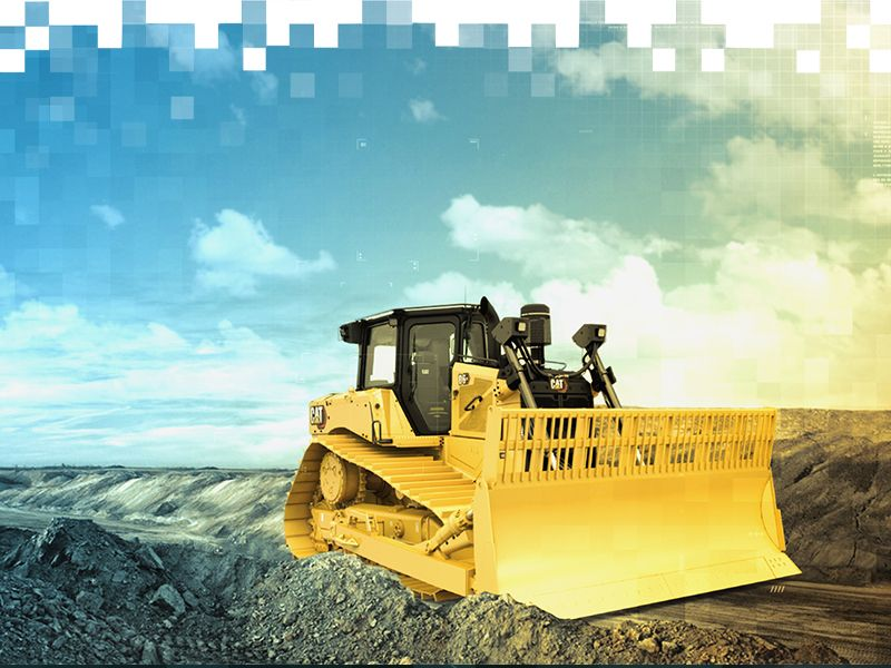 D6 Dozer working shot - Cat Bauma