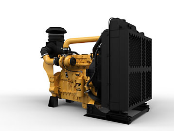 Industrial Diesel Power Units - Lesser & Non-Regulated