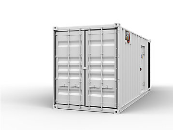Energy container for the Cat® C32 standby generator set