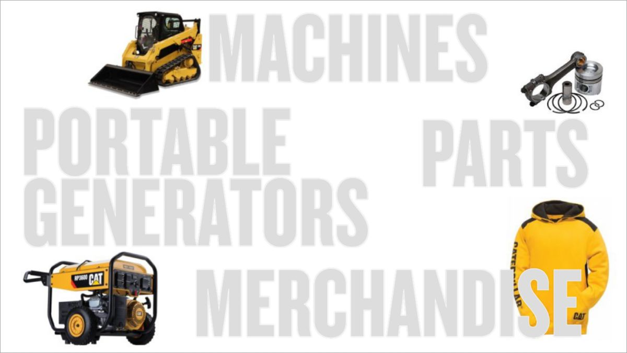 Shop Caterpillar products