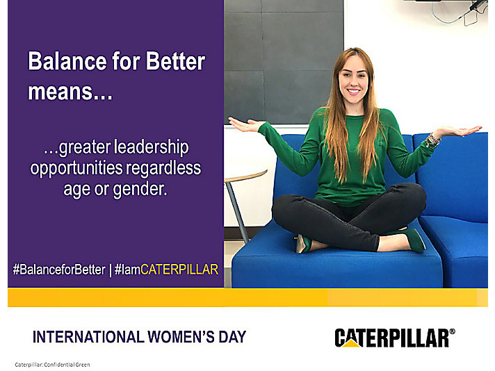 International Women's Day - Better Balance, Better World - Yessica – Mexico