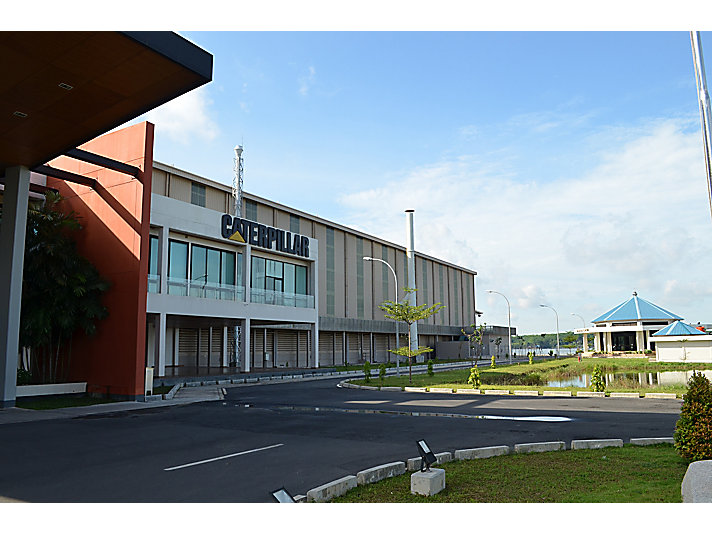 The Caterpillar Batam facility produces products and components for mining operations.
