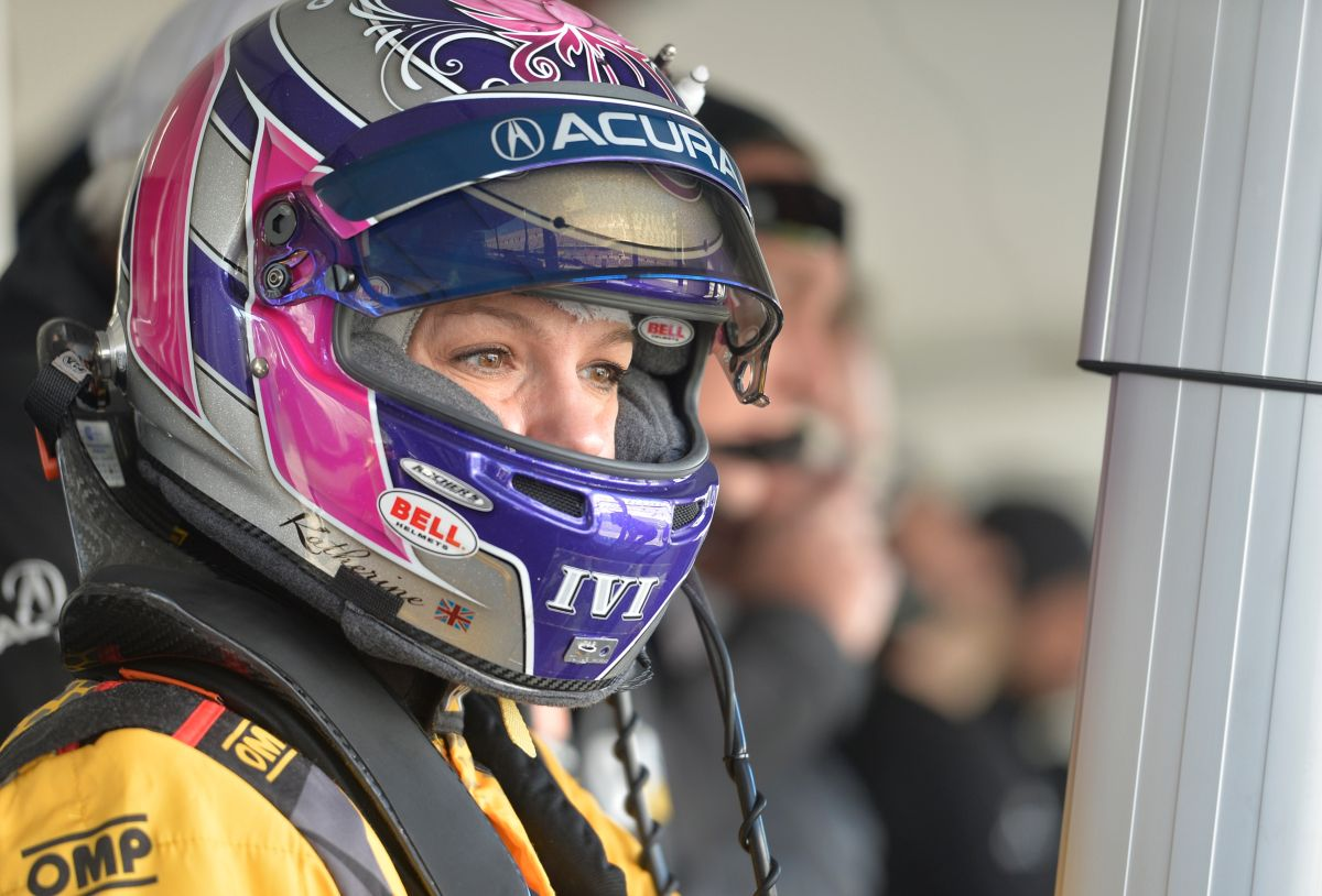 British Driver Katherine Legge Brings Her Passion for Racing to Caterpillar