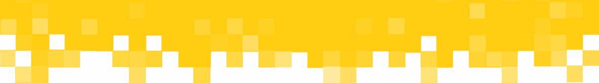 Yellow pixel fade