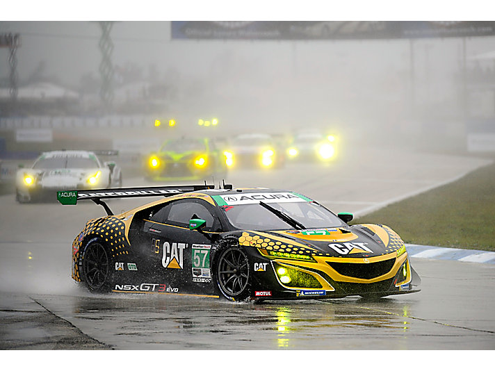 IMSA car female drivers no. 57 weathertech