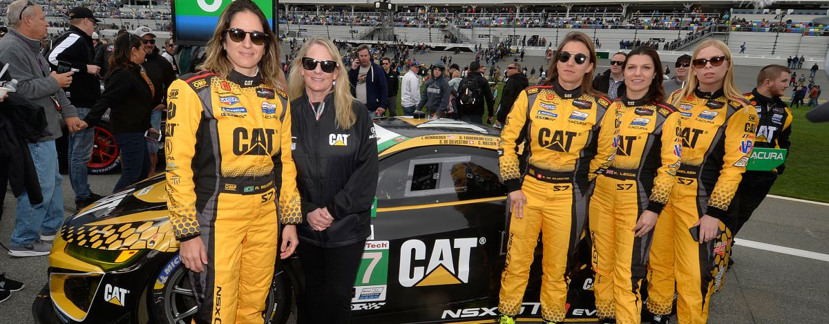 IMSA no. 57 weathertech female driver
