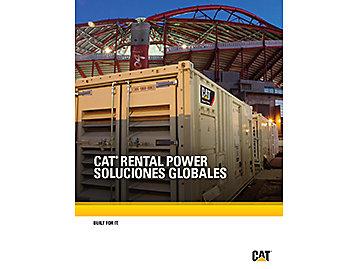 CAT® RENTAL POWER SOLUCIONES GLOBALES