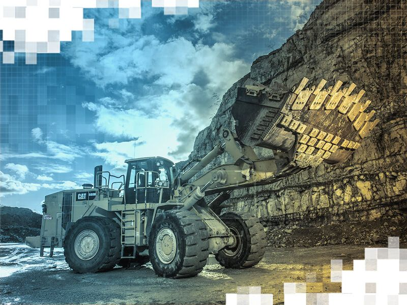 Large Wheel Loader with Advansys G.E.T.