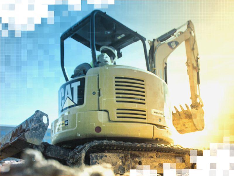 Mini Excavator Working