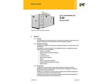 C32 1400/1500 kVA