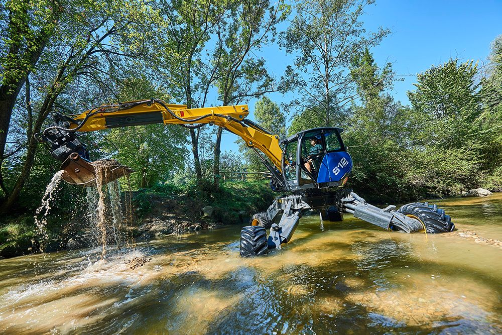 Kaiser's 'spider' excavator reaches new emission