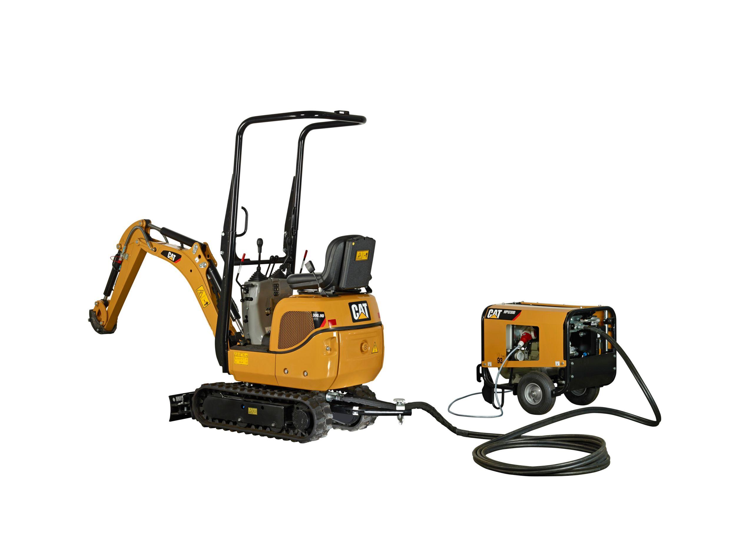 Cat 309.9D VPS mini excavator