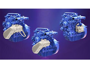 Perkins presents new hybrid technologies on three engines at bauma Munich 2019