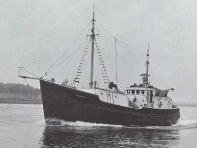 Sigma once held the record for largest single load of swordfish ever landed in the province of Nova Scotia. She was powered by a Cat D343 that Captain C.E. Henneberry described as economical to operate and simple to maintain.