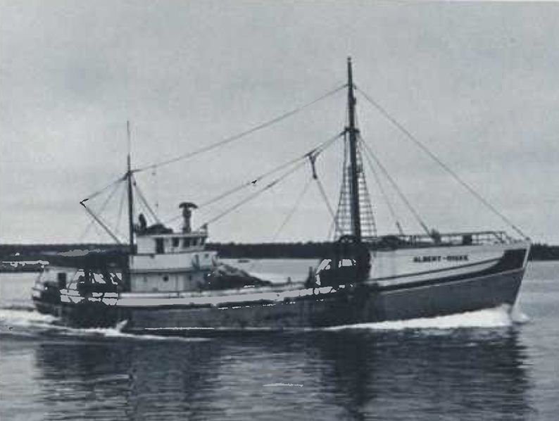 With 17 years of experience choosing Cat marine power, Captain Earl H. Benham was confident selecting a D398 for the Albert-Riske, which fished Canadian and U.S. coastal waters for cod and haddock.