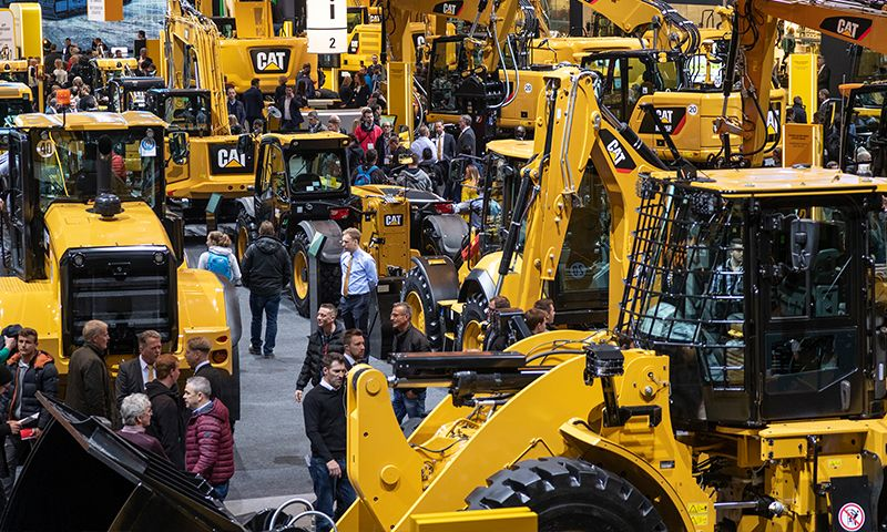 Caterpillar Show Floor Booth