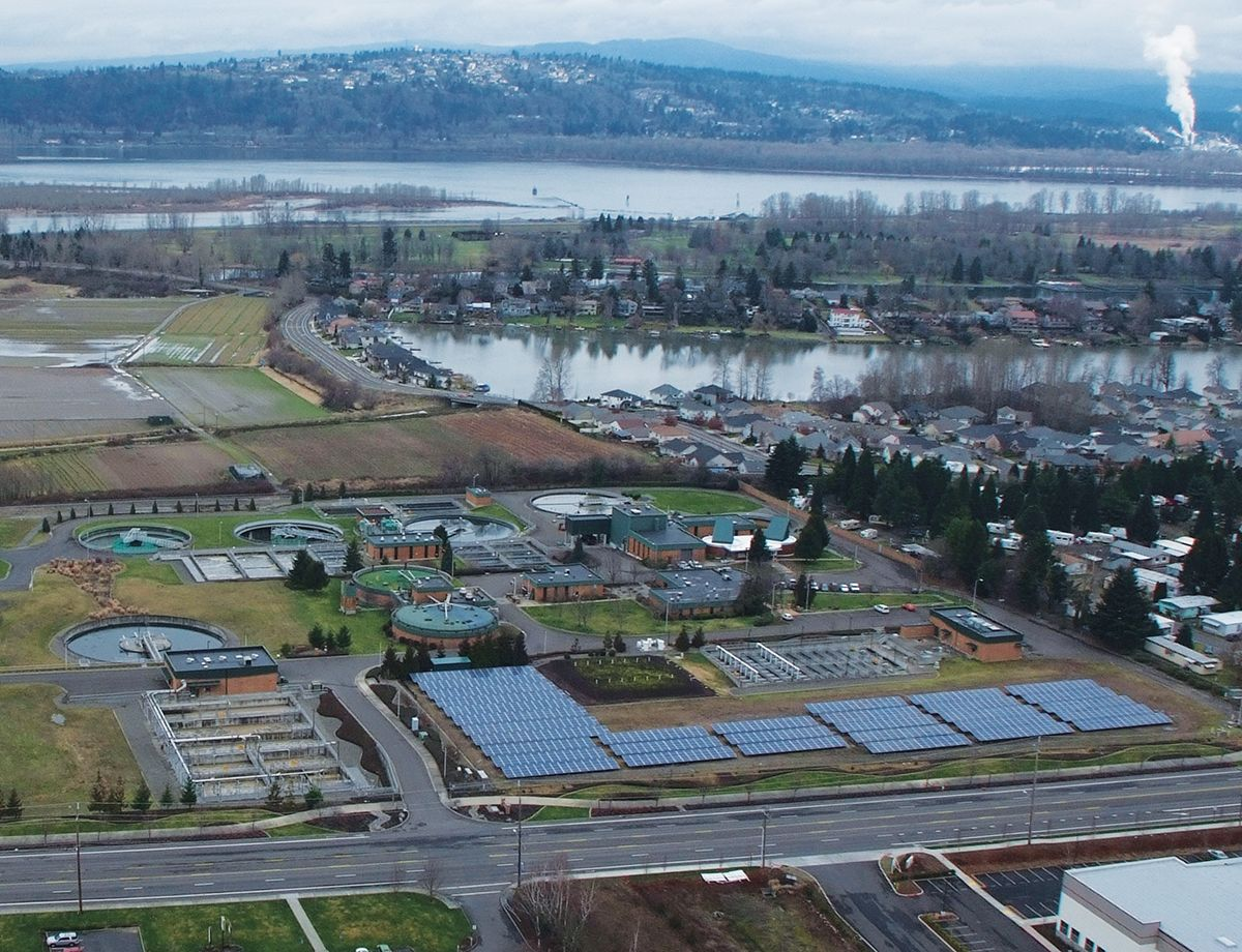 Now entering its fifth year of operation as a  net zero wastewater treatment plant, Gresham  is the first facility of its kind in the Pacific Northwest and the second in the country to hold that distinction.