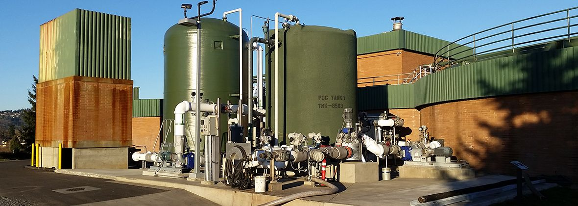 Gresham wastewater - uptime