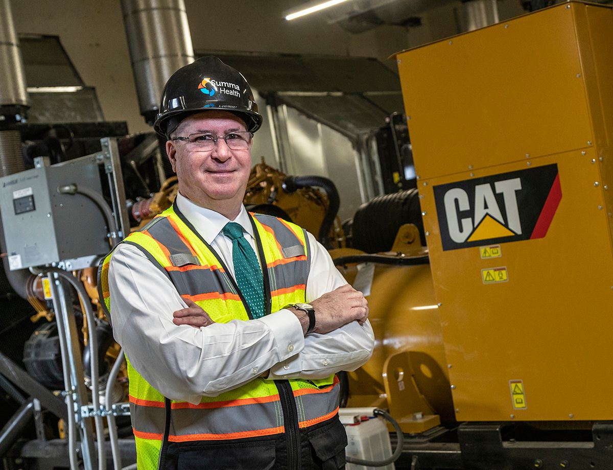 """It's critical for us to be able to parallel the generator sets for efficiency and load shed during an extended power outage,"" says Ed Friedl, VP of construction and property management for Summa Health."