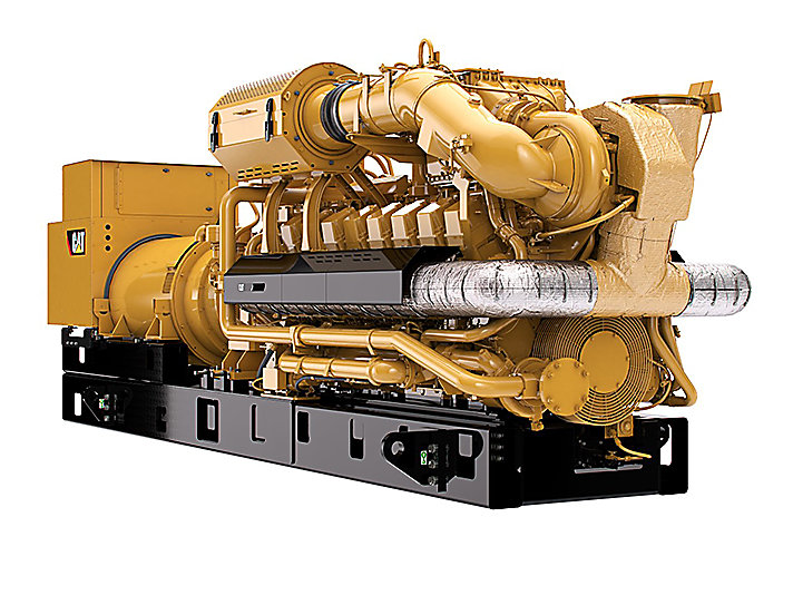 G3516H  Gas Generator Sets Front Right View