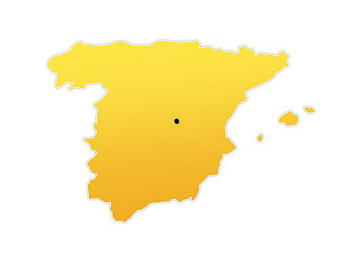 Spain Location Map