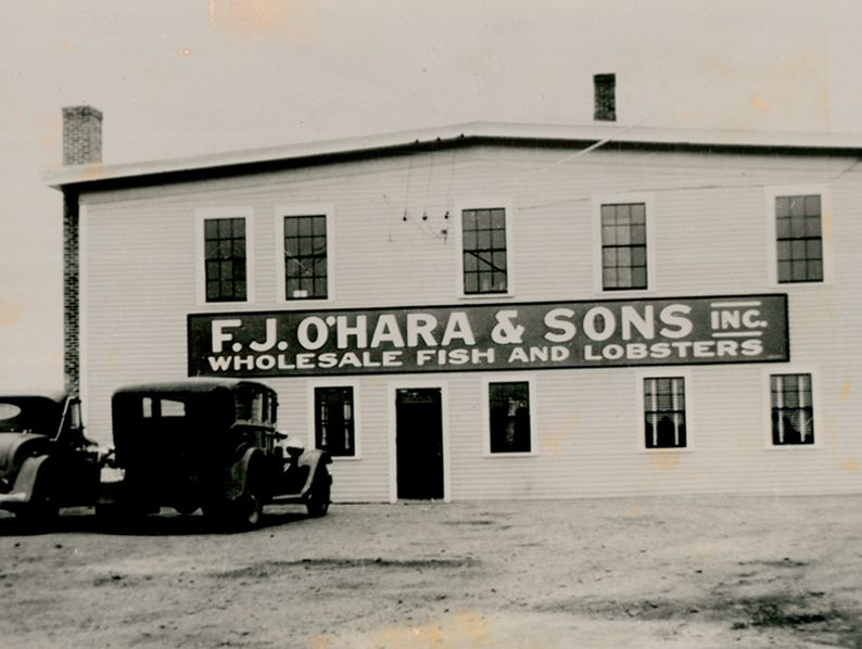 In 1921, Francis J. O'Hara changed the company's name from Atlantic & Pacific Seafood Company to F.J. O'Hara & Sons.