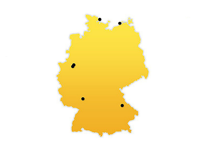 Germany Location Map