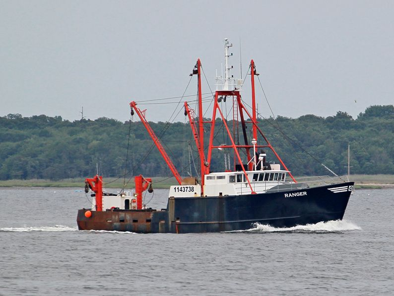 Christened in 2003, the Ranger is a scalloper operating out of New Bedford, Massachusetts.