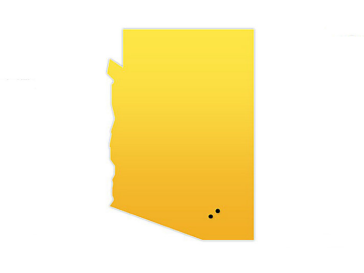 Arizona Location Map
