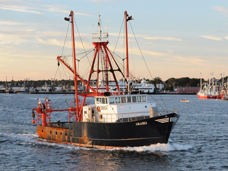 The newest vessel to bear the name Araho operates on the West Coast fishing for Alaskan ground fish.
